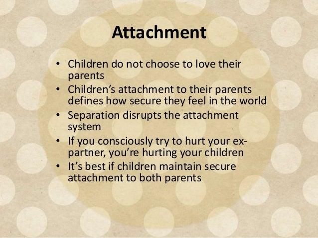 Relationship after separation