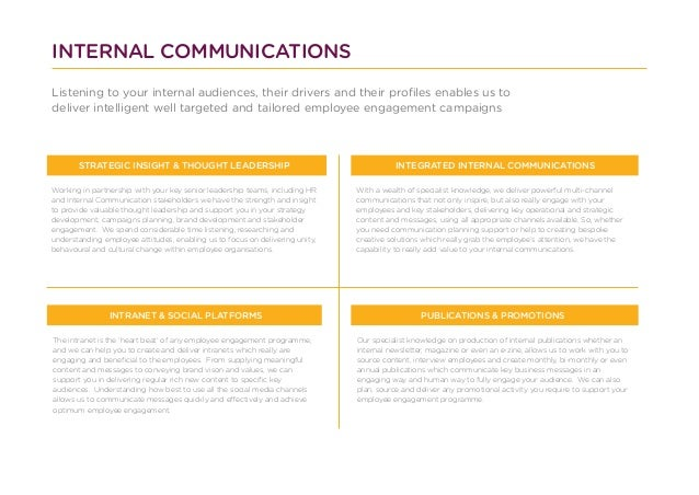 Supporting Your Internal Communications with Proteus