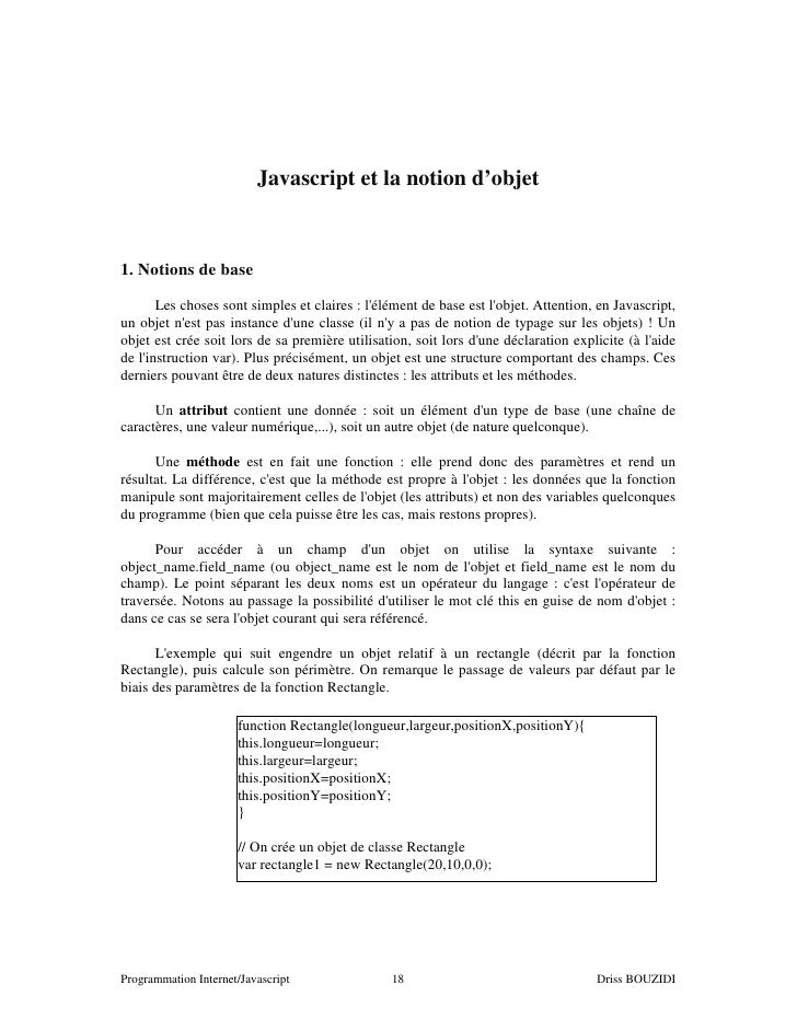 Support Javascript