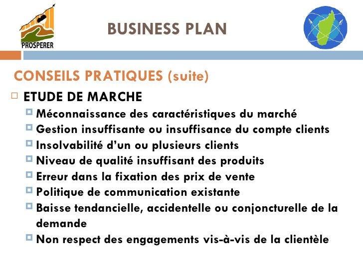 <ul><li>ETUDE DE MARCHE </li></ul><ul><ul><li>Méconnaissance des caractéristiques du marché </li></ul></ul><ul><ul><li>Ges...