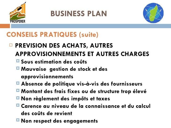 <ul><li>PREVISION DES ACHATS, AUTRES APPROVISIONNEMENTS ET AUTRES CHARGES </li></ul><ul><ul><li>Sous estimation des coûts ...