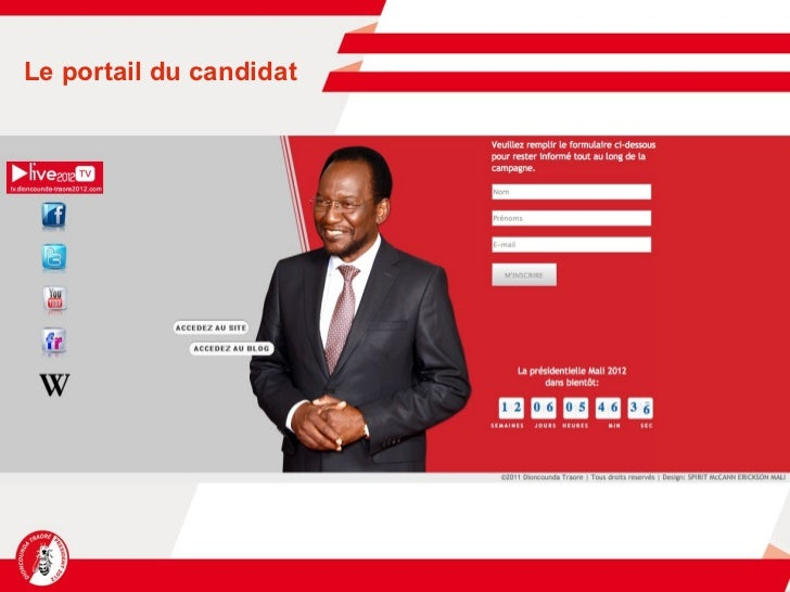 Le portail du candidat