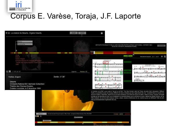 Corpus E. Varèse, Toraja, J.F. Laporte
