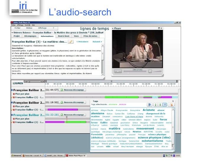 L'audio-search