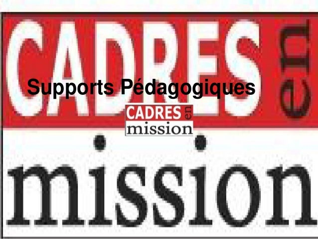 Supports Pédagogiques