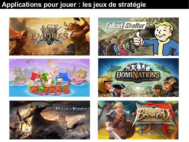 Applications pour jouer : les jeux de stratégie