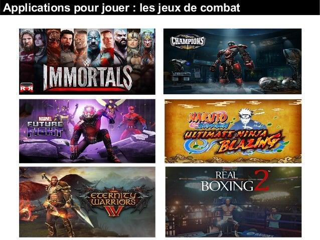 Applications pour jouer : les jeux de combat
