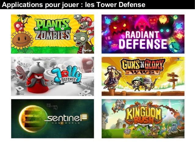 Applications pour jouer : les Tower Defense