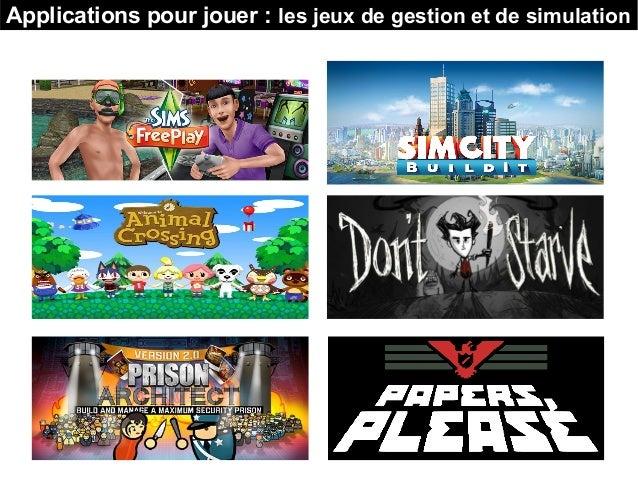 Applications pour jouer : les jeux de gestion et de simulation