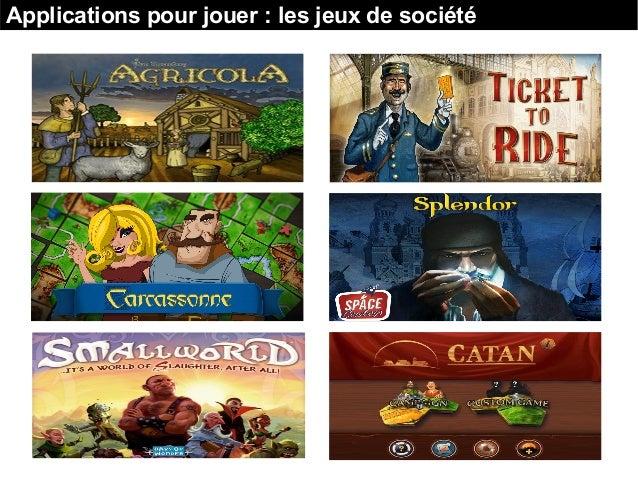 Applications pour jouer : les jeux de société