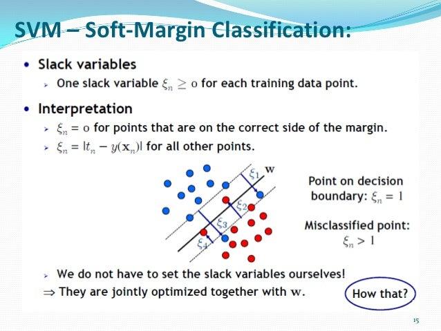 support vector machine classifier