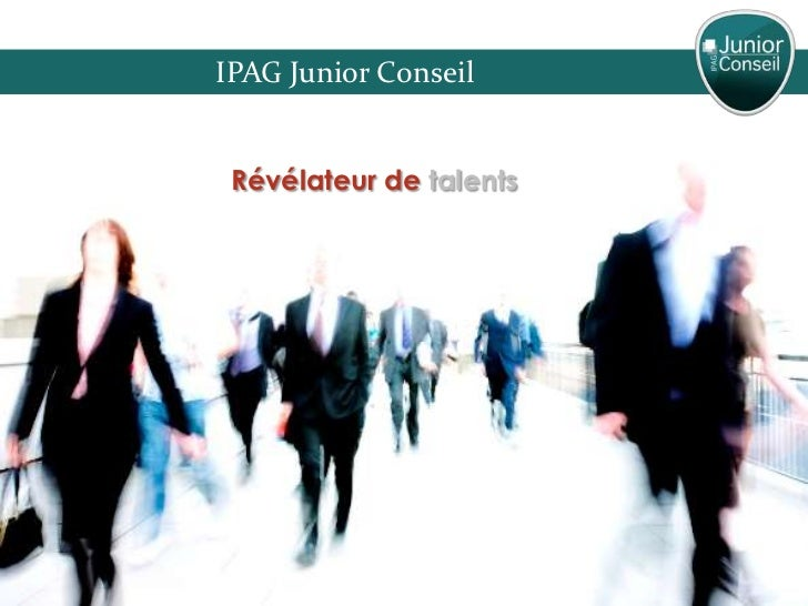 IPAG Junior Conseil Révélateur de talents