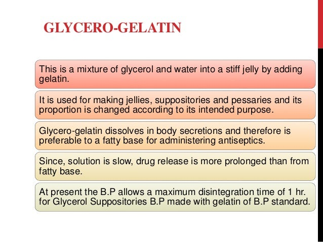 gycerole suppositories how to use