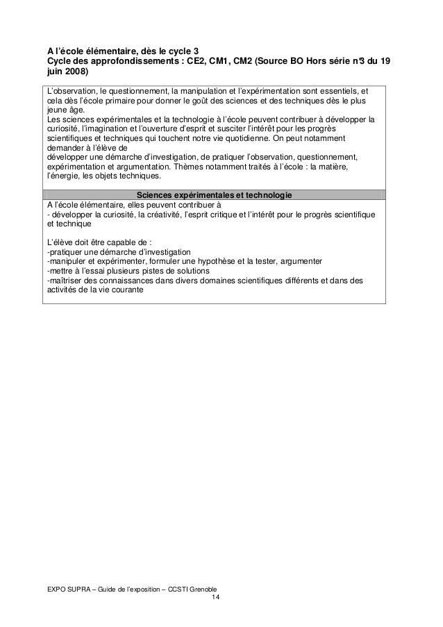 A l'école élémentaire, dès le cycle 3 Cycle des approfondissements : CE2, CM1, CM2 (Source BO Hors série n° du 19 3 juin 2...