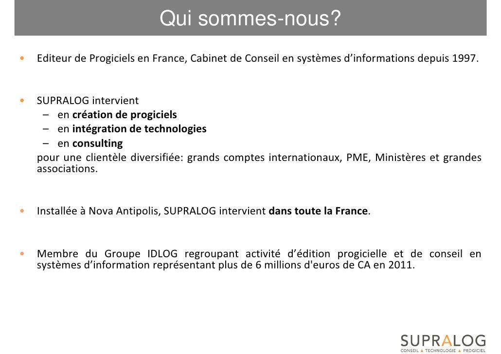 Supralog 2012 Slide 3