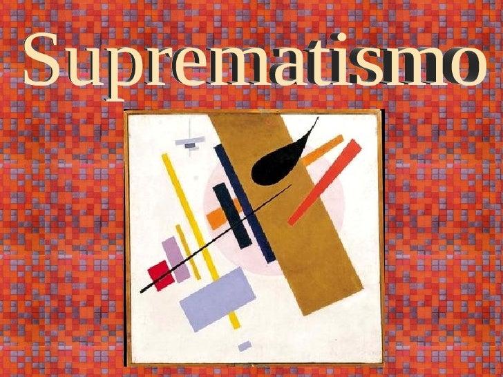 Suprematismo
