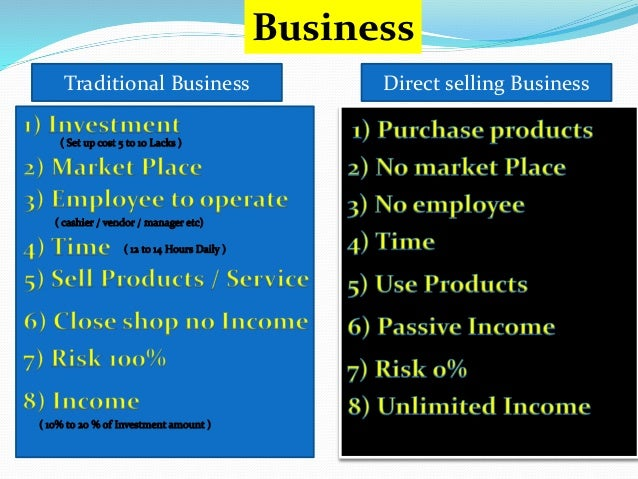 Best Direct Selling Business Low Cost Mlm Business In India