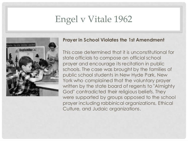 engel vs vitale case