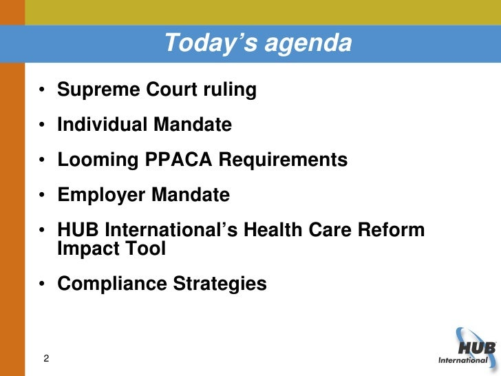 Supreme Courts Ppaca Ruling What Does It Mean For Plan ...