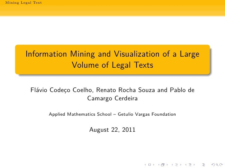 Mining Legal Text     sil.fd SIL.fd .                                                                                     ...