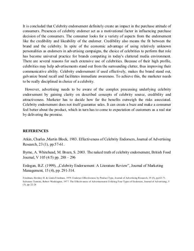 Dissertation on celebrity
