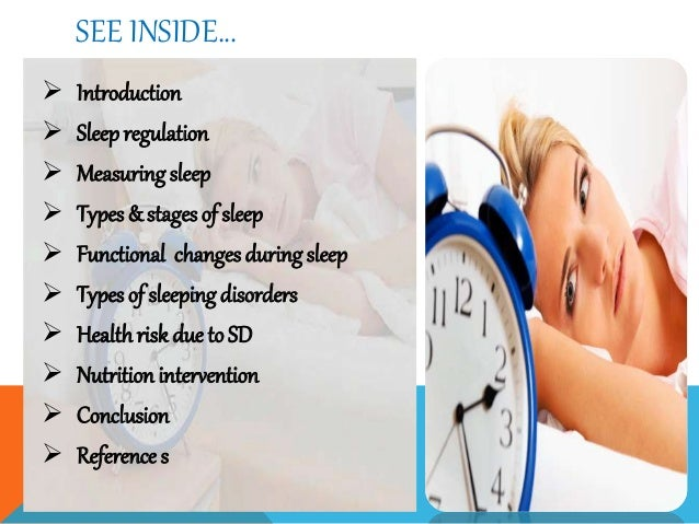 sleep disorders and their effects Sleep disorders involve problems with the quality, timing and amount of sleep, which cause problems with functioning and distress during the daytime there are a number of different types of sleep disorders, of which insomnia is the most common other sleep disorders are narcolepsy, obstructive sleep apnea and restless.