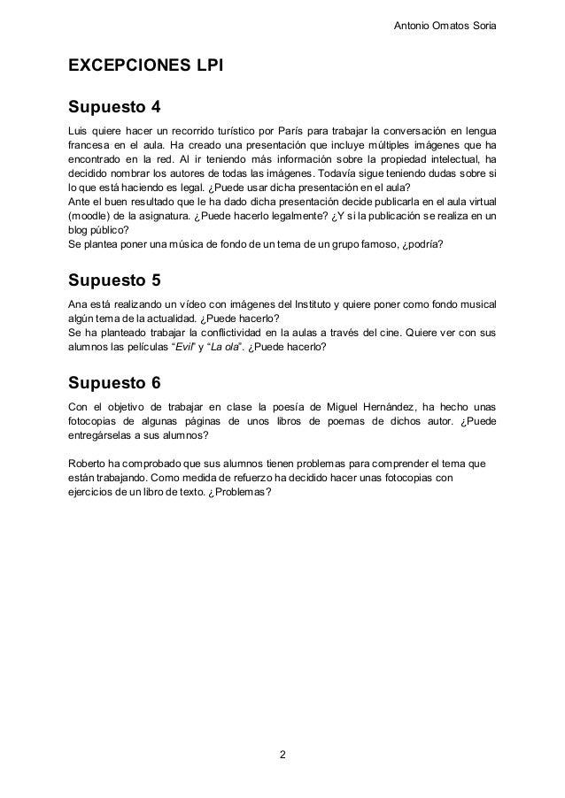 Supuestos prácticos docentes Slide 2