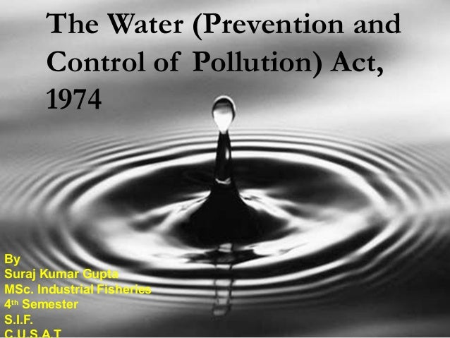Summary of the Safe Drinking Water Act