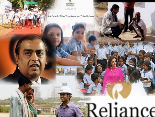 reliance industries limited and csr activities essay The social issues addressed by the relate main objective of this article is to analyze the csr activities  reliance industries limited is one of the reputed and .