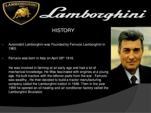 Lamborghini All You Should Know