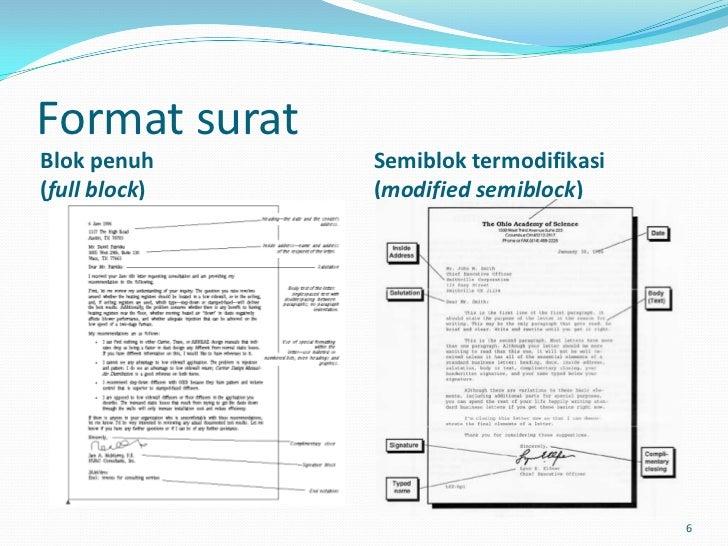 Surat Menyurat Resmi Dalam Bahasa Indonesia