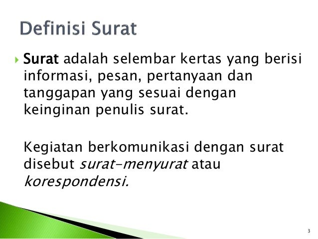 Image Result For Bentuk Bentuk Surat By Korespondensi Bahasa Indonesia On