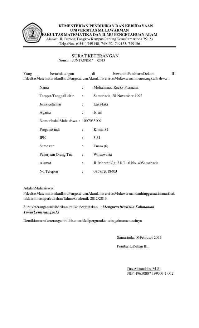 Surat aktif kuliah rokii 2013 copy - copy