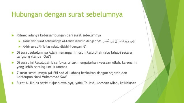 Surat Al Ikhlas Rangkuman Tafsir Ustadz Nouman Ali Khan