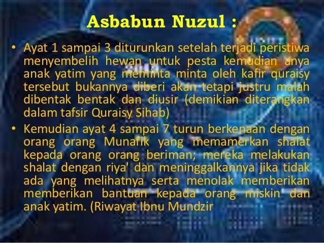 Surat Al Maun