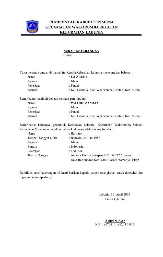46+ Contoh surat wali nikah terbaru terbaru
