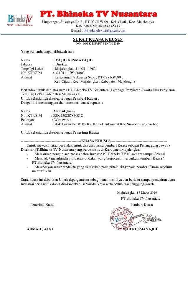 Surat kuasa khusus ahmad jaeni (1)