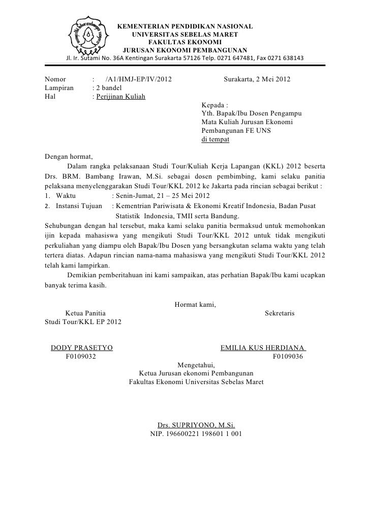 Surat Pemberitahuan Ekopar1