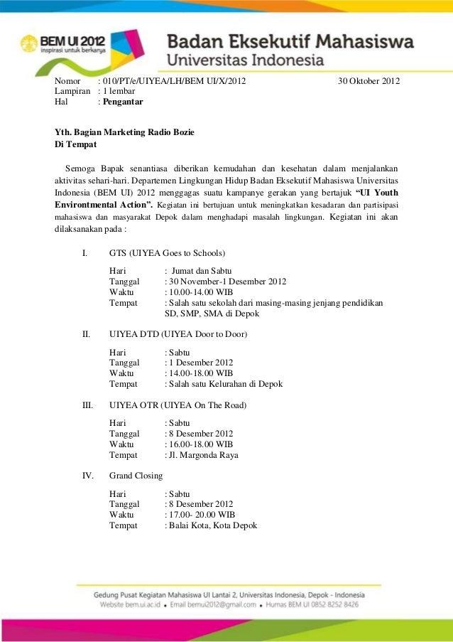 surat pengantar media partner uiyea 2012