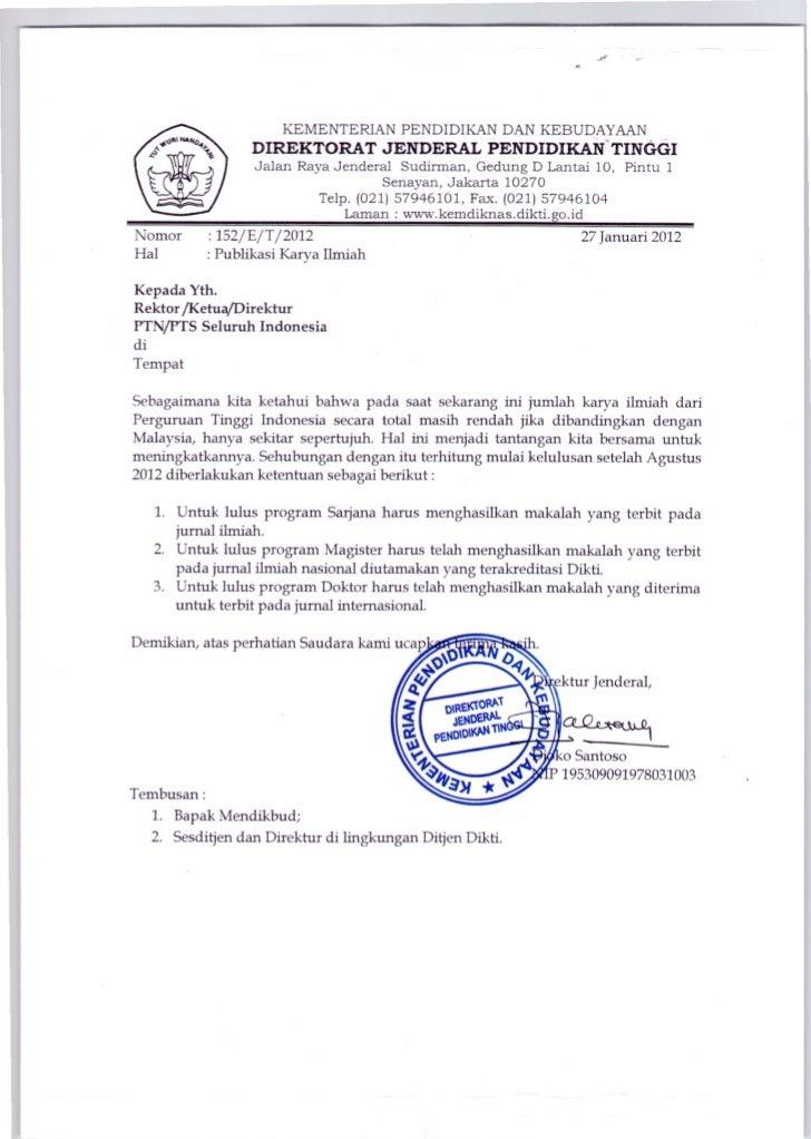 Surat publikasi karya ilmiah