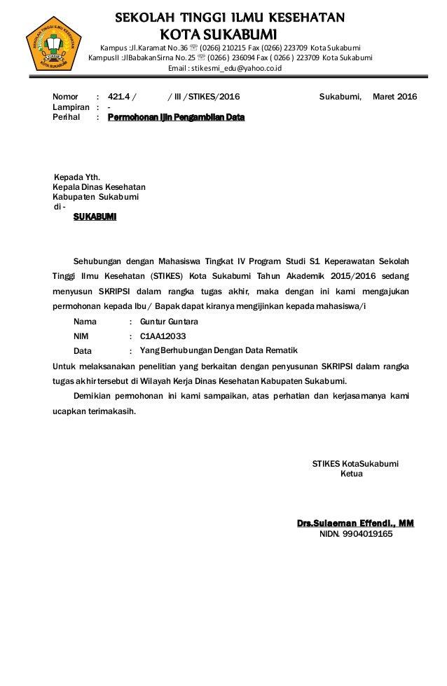 Surat S1 Keperawatan