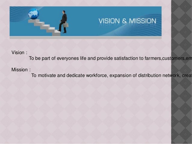 mission and vision of amul Strategic mission is a type of marketing approach which is based on the core philosophy of organization it is a long term plan on which the company operates to achieve its mission and vision objectives and goals.