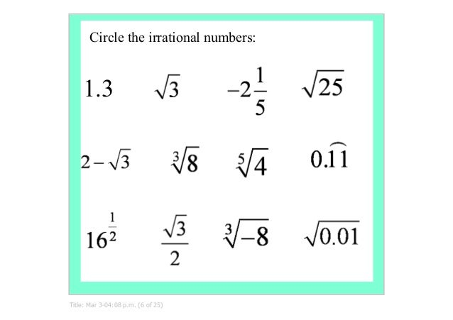 Surds1numbersetssimplifysurds – Rational or Irrational Worksheet