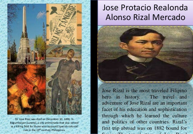 essays written by dr. jose rizal
