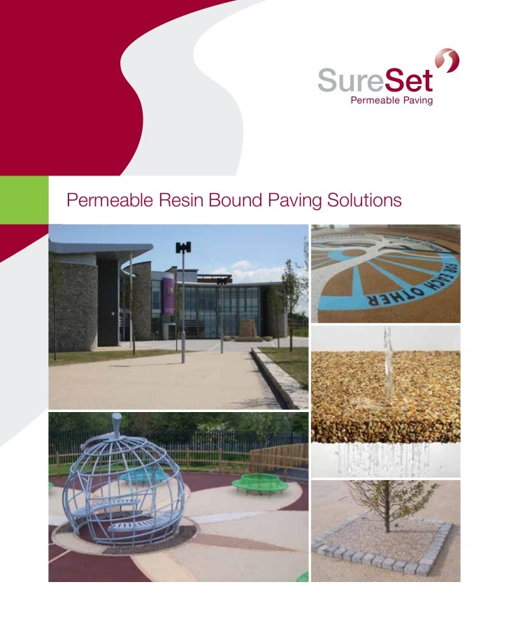 Permeable Resin Bound Paving Solutions