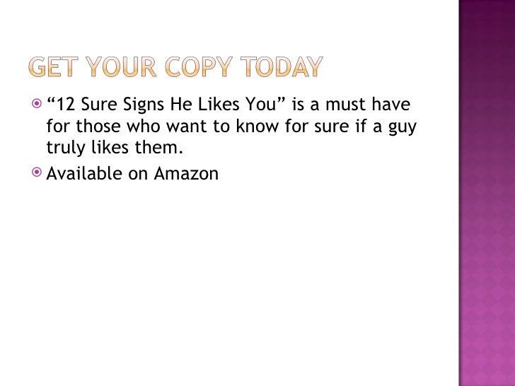 sign she loves you