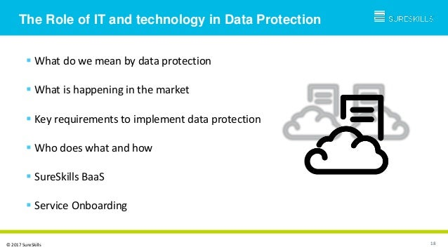 Session Overview GDPR and the Cloud • The Data Challenges of GDPR • The Data Copy Problem • Managing Data Proliferation • ...