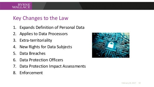 Data Protection Impact Assessments • Privacy by design – data protection must now be taken into account when designing new...