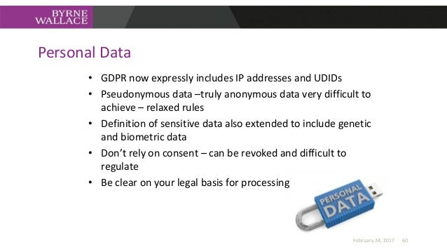 Data Protection Officers • Data Protection Officers will now be mandatory for the following Data Controllers and Processor...