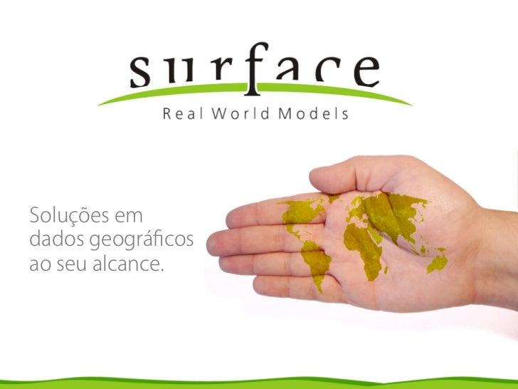 Design de apresentação Surface